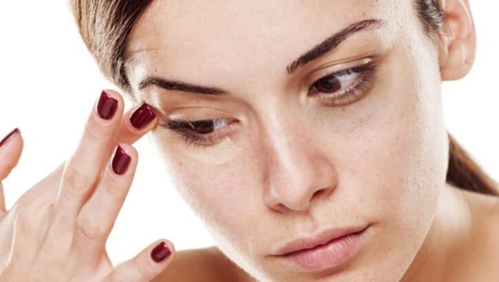 hemorrojdkräm under ögonen